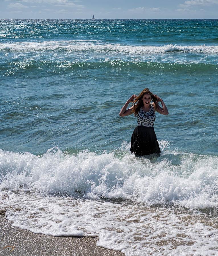 """Sinba forstod plutselig hva jeg mente med """"vannet er kaldt i sjøen her"""""""